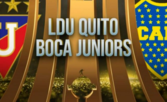 LIGA DE QUITO VS BOCA JUNIOR