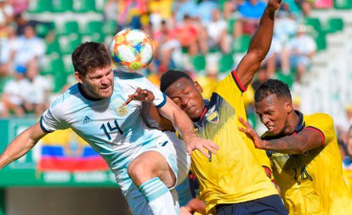 Dura derrota de Ecuador (1-6)en el amistoso frente Argentina en España