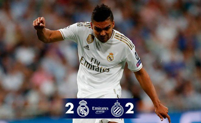 Patinazo del Real Madrid en Champions con el Brujas